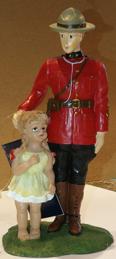 Mountie and Little Girl