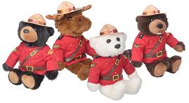 RCMP Mountie 11 inch Plush Toy