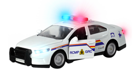 RCMP Toy Car Lights Up