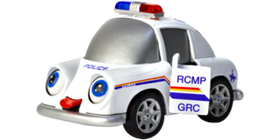 RCMP Toy Car