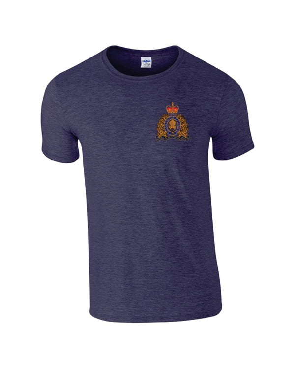 Embroidered RCMP Crest T-Shirt