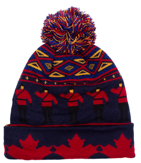Knit Mounties Toque