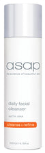 Load image into Gallery viewer, ASAP DAILY FACIAL CLEANSER 50ML - 200ML