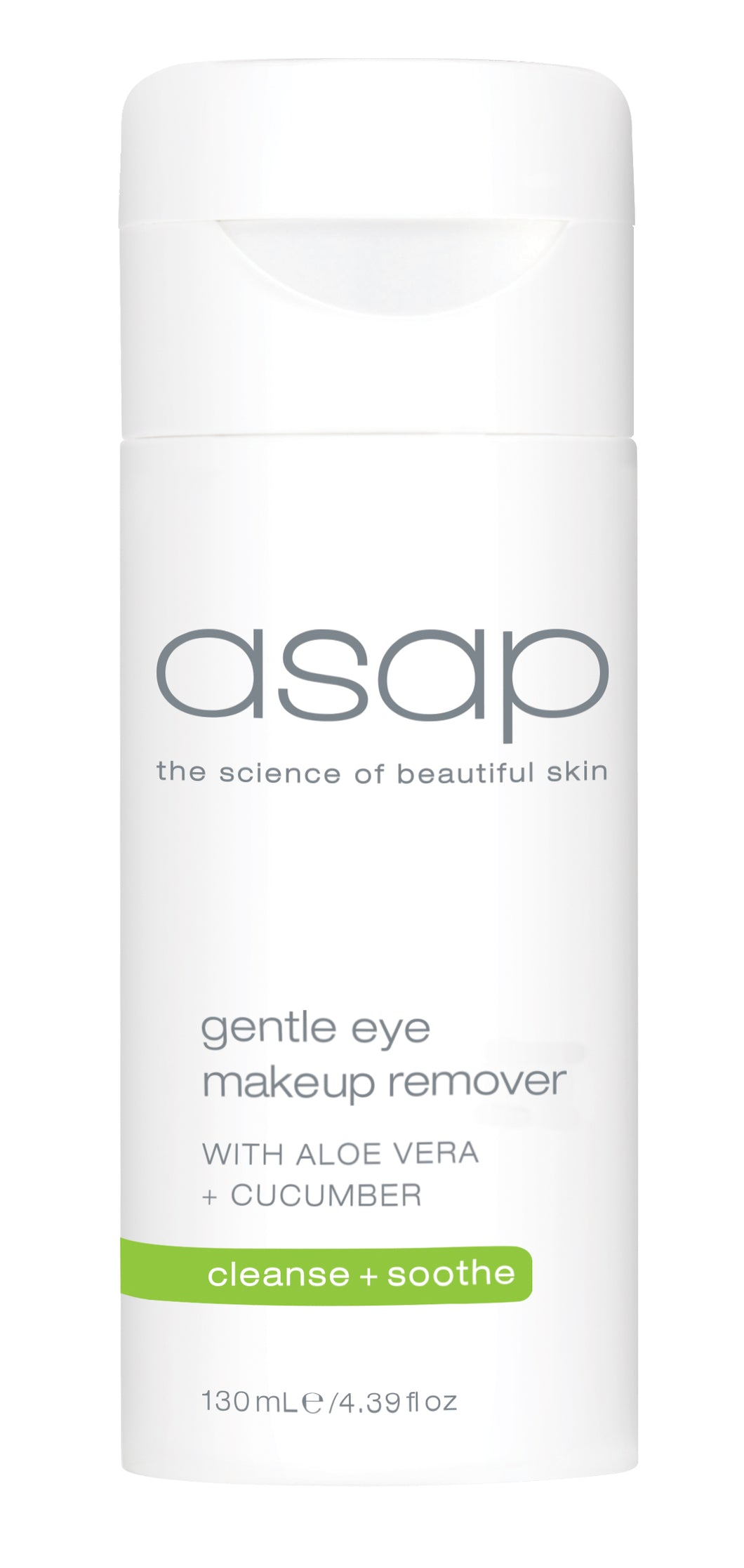 ASAP GENTLE EYE MAKEUP REMOVER - 130ML