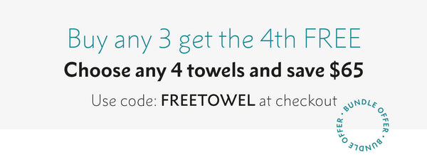 free towel offer