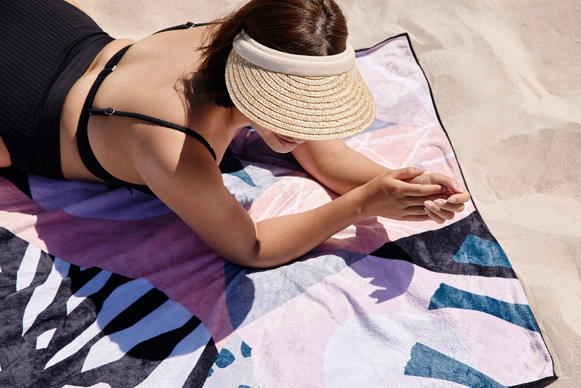 Footloose Sand Free Beach Towel - Dusk