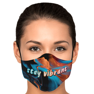 STAY VIBRANT FACE MASK