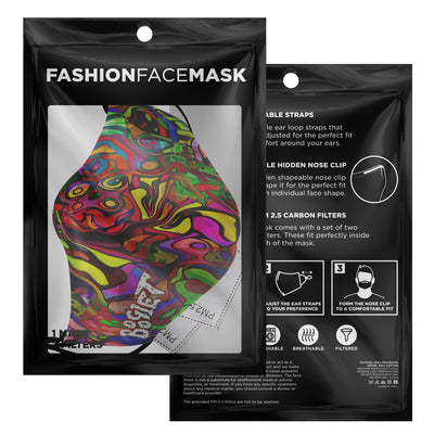 ABSTRACT CUSTOM MASK