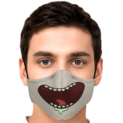 Rick mouth face mask