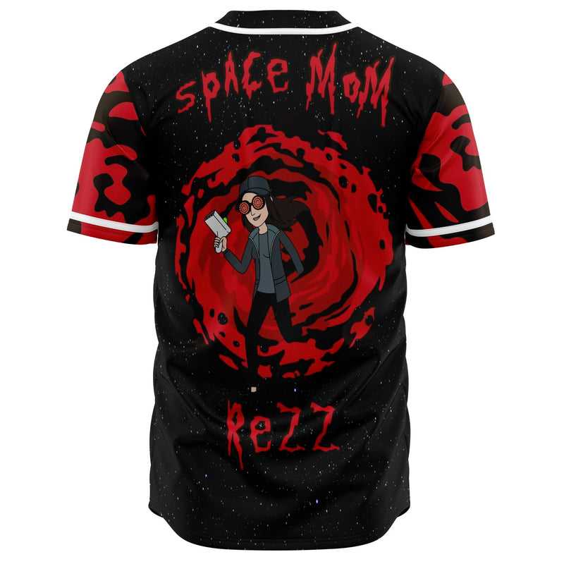 Space mom Custom Jersey