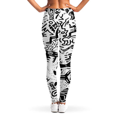 Ethnic pattern Leggings