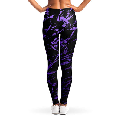 Purple splashed Leggings
