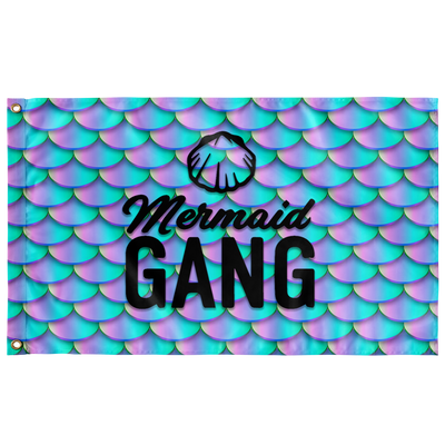 MERMAID GANG FLAG
