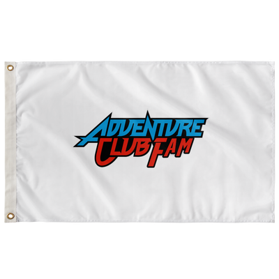 Adventure club family flag