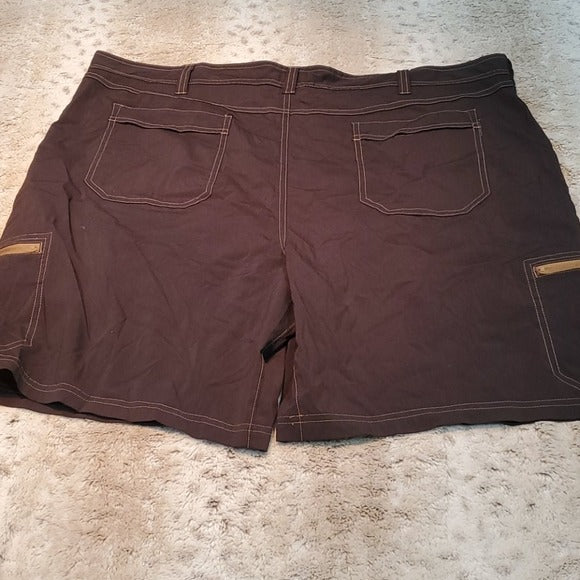 NWT Croft & Barrow Black Swim Trunks With Pockets
