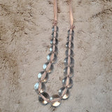Boutique Long Faux Pearl Beaded Necklace