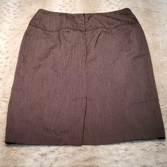 NY & Co Dark Grey HighWaisted Pencil Skirt Size 12