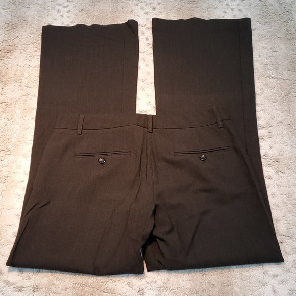 Express Design Studio Black Editor Tall Dress Pant Size 2