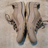 Skechers Grey and Blue Comfort Sole Ties Size 9