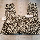 NWT Frame Ali Leopard High Rise Skinny Cigarette Jeans