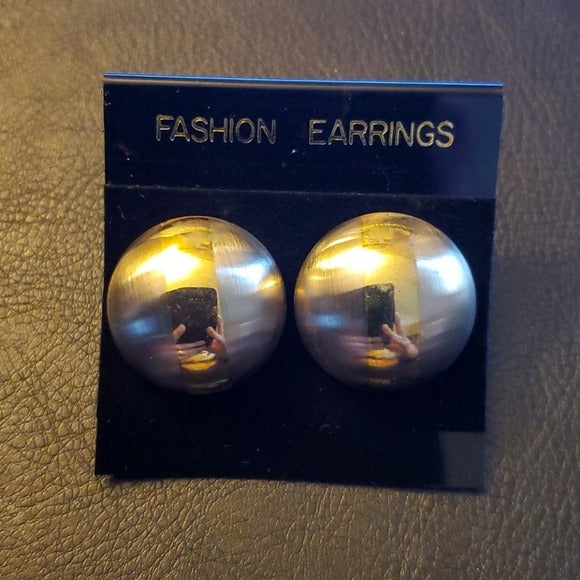 Boutique Shiney Gold Ball Fashion Earrings