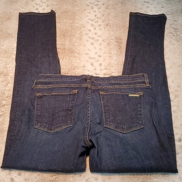 Juicy Couture Mid Rise Dark Wash Skinny Jeans Size 30