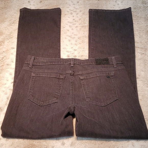 Joe's Jeans The Icon High Rise Bootcut Black Jeans Size 29
