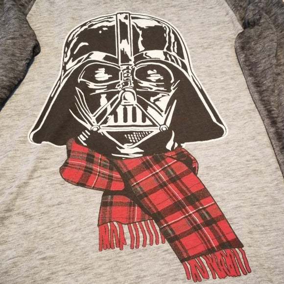NWT Star Wars Darth Vader Light Weight Holiday Shirt Size S