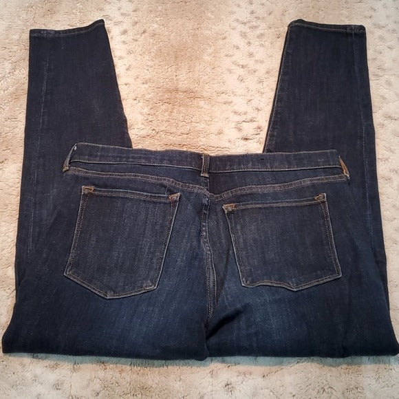 Banana Republic Dark Wash Low Rise Skinny Crop Size 29