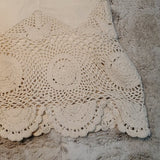 Free People Cream High Waisted Crochet Shorts Size 0