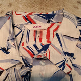 NWT Alia American Dreams Umbrella Button Up Shirt