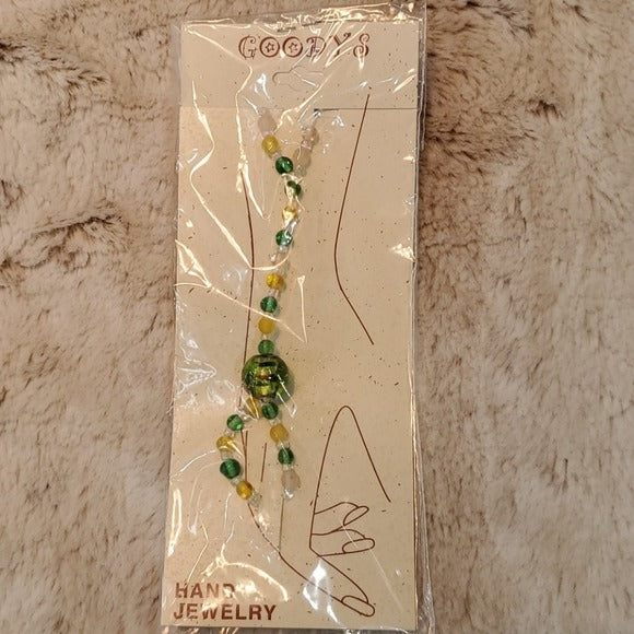 Boutique Green Accent Fashion Hand Jewelry