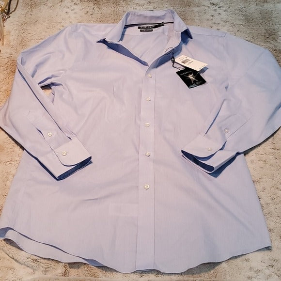 NWT Lauren Ralph Lauren Slim Fit Non Iron Dress Shirt
