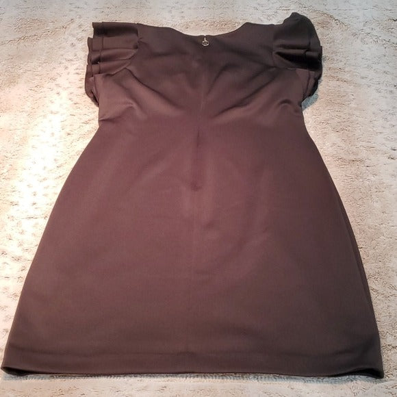 Tommy Hilfiger Bodycon Dress w Ruffle Sleeves Size 14