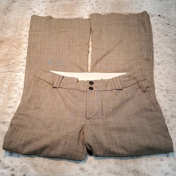 Banana Republic Martin Fit Wool Blend Trousers Size 6