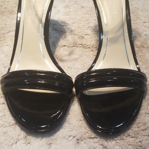 Kenneth Cole Black Milania Design Strapey Heels Size 9.5