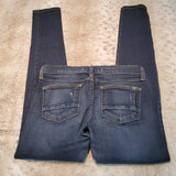 Flying Monkey Platinum Dark Blue Skinny Jean Size 26