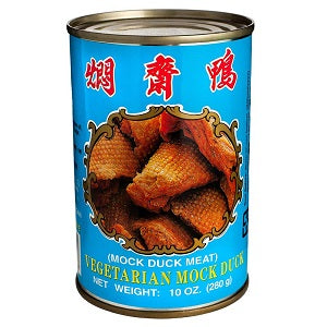 WC VEGETARIAN MOCK DUCK 280G  伍中焖斋鸭280克