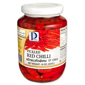 PT PICKLED RED CHILLI 454G  潘泰腌红辣椒454克