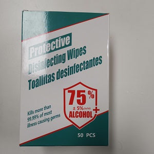 75% ALCOHOL WIPES 50PC  75%酒精湿巾50片