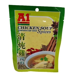 A1 CHICKEN SOUP SPICE 35G  A1清炖鸡汤料35G
