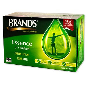 BRANDS ESSENCE OF CHICKEN 6PK  白兰氏鸡精6瓶