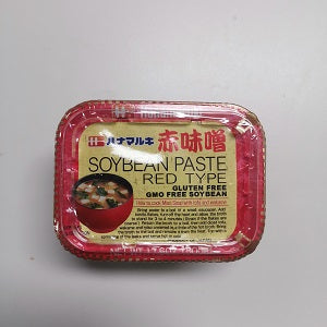 HANAMARUKI MISO RED 500G  日本红味增酱500G