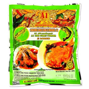 A1 FISH CURRY POWDER 250G  A1鱼类咖喱粉250克