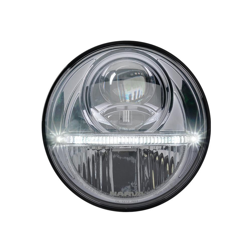 "Narva LED 7"" LED Headlight Replacement High/Low Beam with DRL"