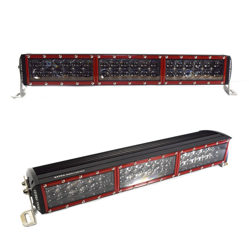 "Big Red Double Row Light Bar Extra Power 20"" (508MM)"