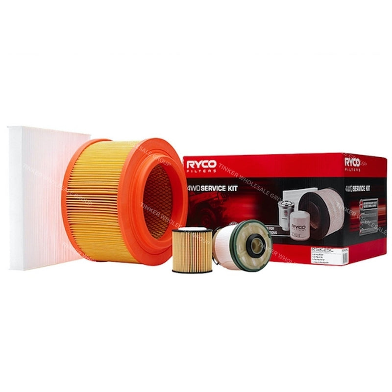 Ryco Filter Service Kit fits Ford Ranger PX 3.2L Turbo Diesel Ryco