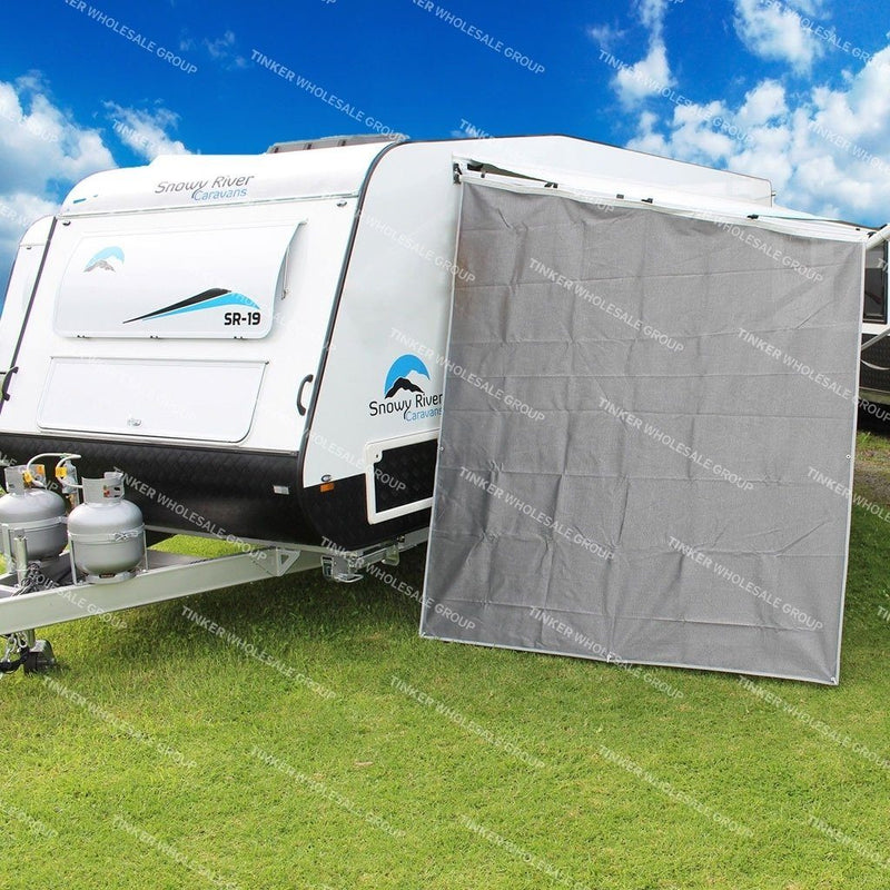 Caravan Awning End Screen Wall