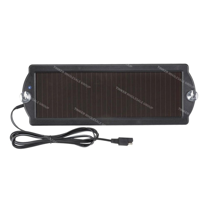 Projecta 1.5 Watt Solar Panel with Clips and Plugs