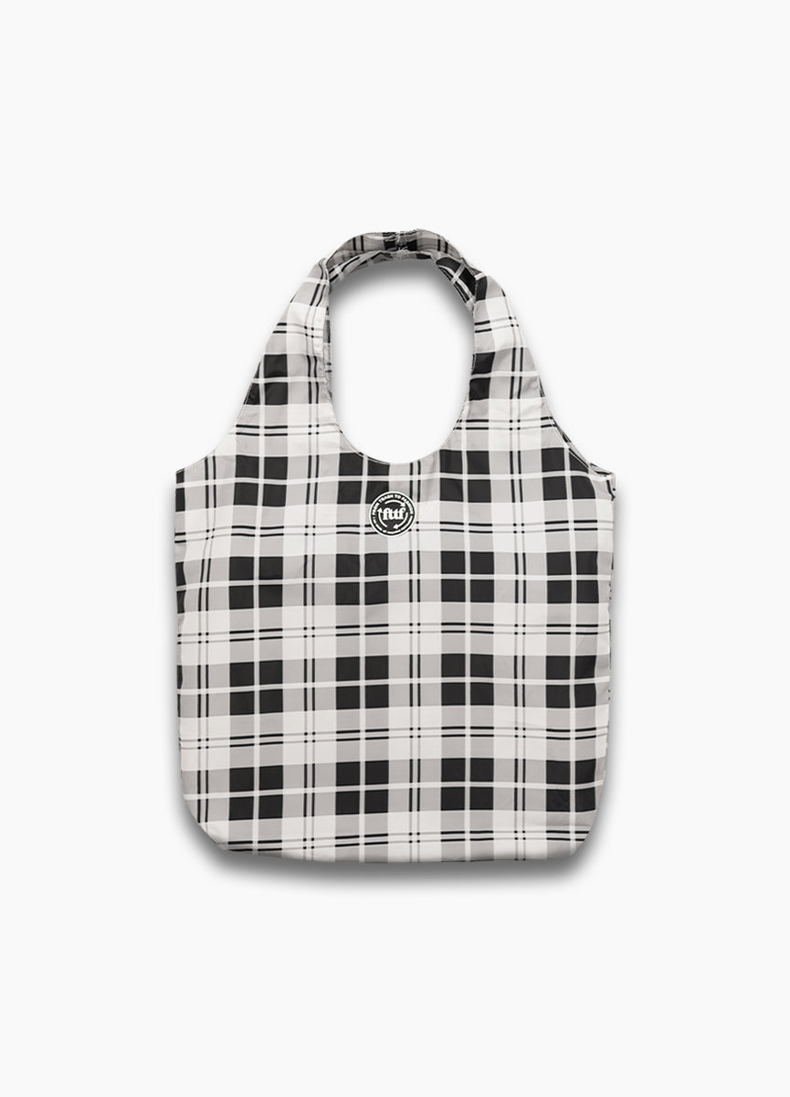 Basic Shopper - Check Black/White